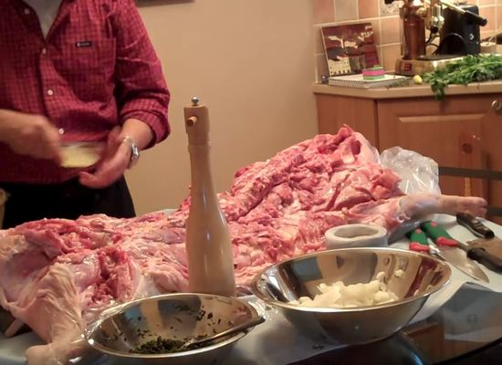 Learn how to Bone and Season a Porchetta with Cook Out Roasters