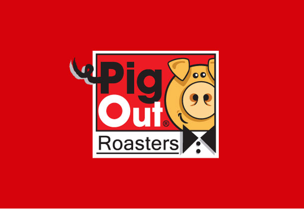 pig out roasters logo